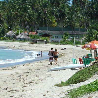 Some activity along Peroba Beach