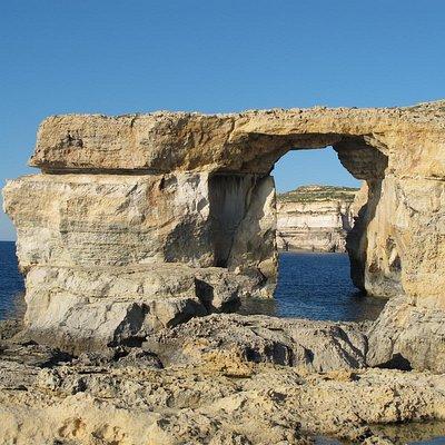 Natural rock formation