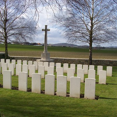 """Croonaert Chapel Cemetery"""