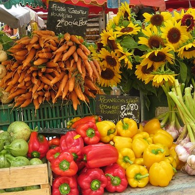 A Provencal Market Stall