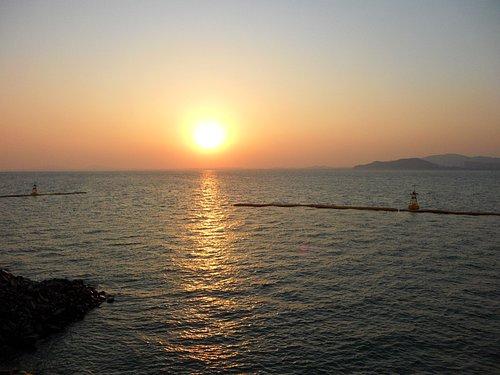 Sunset at Wolmido.