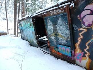 More train wreck paintings