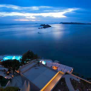 Dubrovnik Palace Hotel view at night