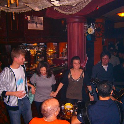 Belgrade Nightlife Students dancing