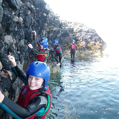 Coasteering with Stramash, Oban