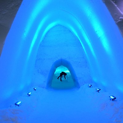 Entrance to Ice Hotel