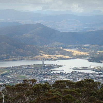 Hobart City View from Mount Wellington