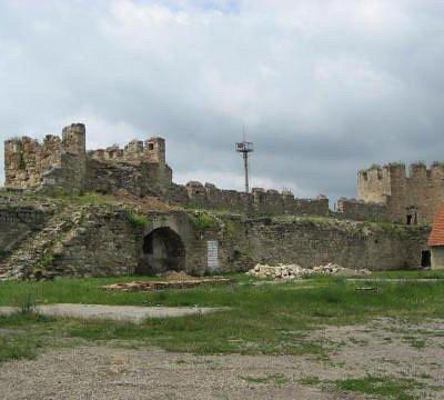 die Festung in Transnistrien