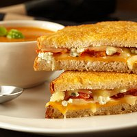 Grilled Cheese & Tomato Bisque