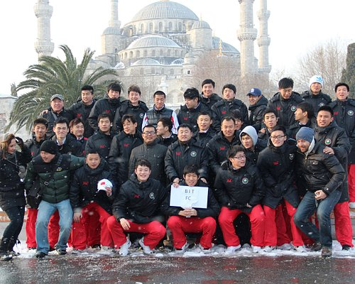 China Sports Tour in Istanbul
