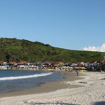 Playa das conchas