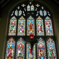 Beautiful window in Tenterden church