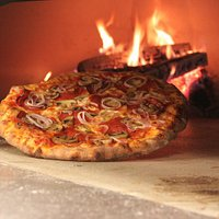 AUTHENTIC BRICK OVEN PIZZA