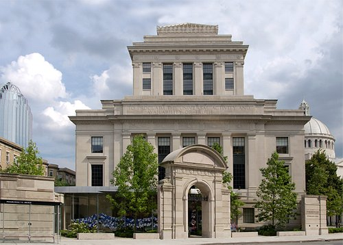 The Mary Baker Eddy Library in Boston
