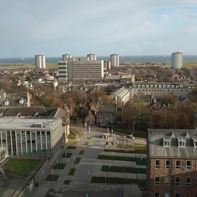 New Uni library - view from the top