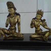 Statues tibétaines