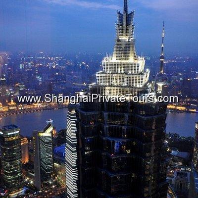 Fabulous birdview of Shanghai