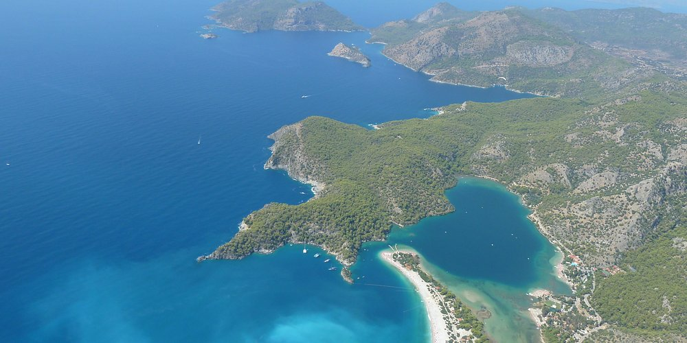 Oludeniz seen from up there
