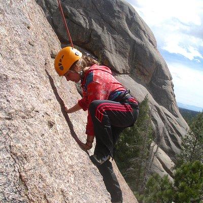 Climbing in Taos, NM