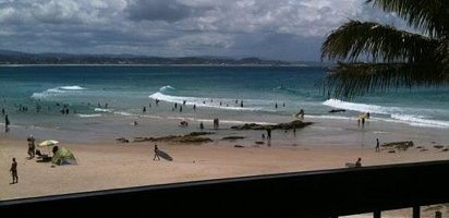 Looking at Snapper from Rainbow Surf Club!