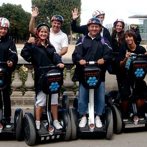 Paris Segway Tours for private group