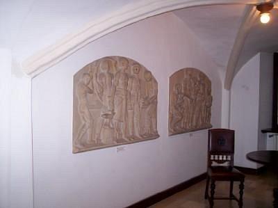 Raum im Erdgeschoss