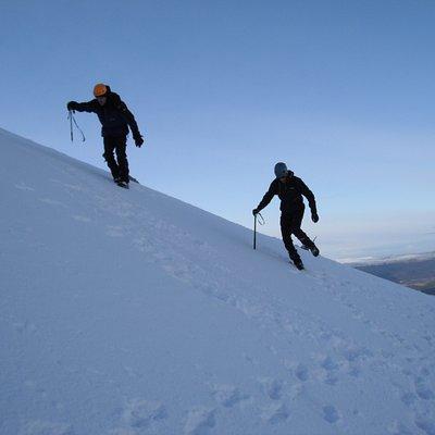 Winter Mountaineering, Cairngorms
