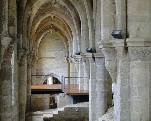 Mosteiro de Santa Clara-a-Velha, Coimbra. Interior.