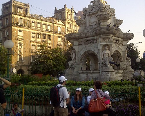 Flora Fountain...common to all 3 walks!