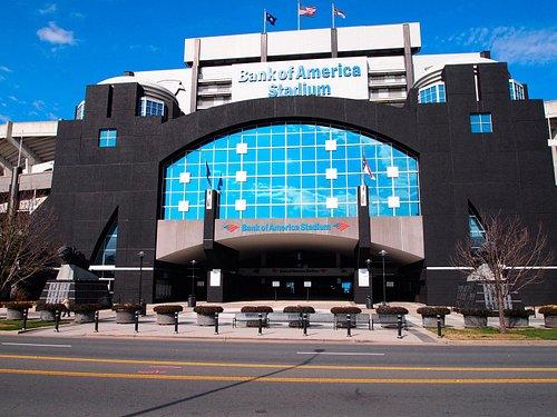 Front of Bank of America Stadium