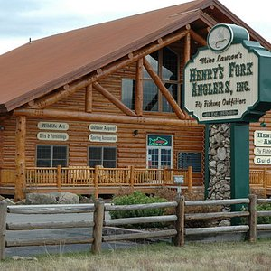 Henry's Fork Anglers world famous fly fishing store