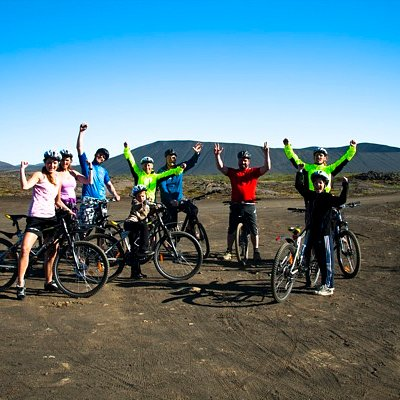 A happy group with Hike and Bike