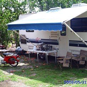 Camping at Markham