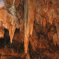 Tropfsteingebilde in der Gasselhöhle
