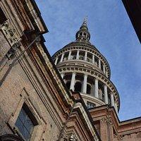 Basilica di San Gaudenzio, la cupola dall'esterno