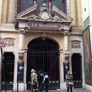 L'entrée du Manoir