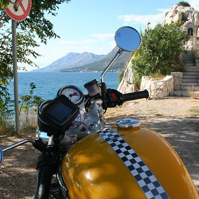 route E65 by the Adriatic w/ Thruxton- Croatia