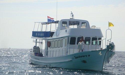 Sea Fun Divers day trip boat