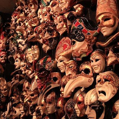 Masks at Ca del Sol - Mask Shop