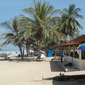 Kotu Beach from Dominos beach bar