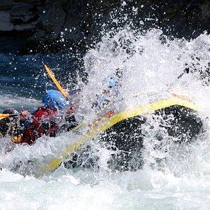Rafting en verano