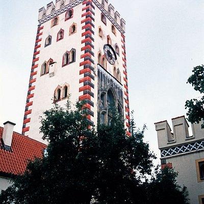 Bayertor Landsberg, der Turm