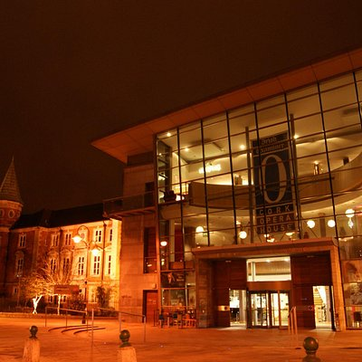 Cork Opera House with Crawford Art Gallery in the background.