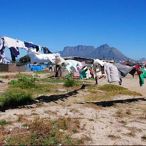Langa Township, shack dwellings