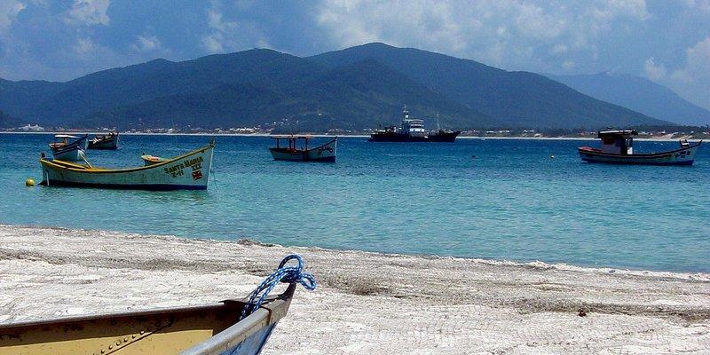 Fishnets in Canpeche island beach