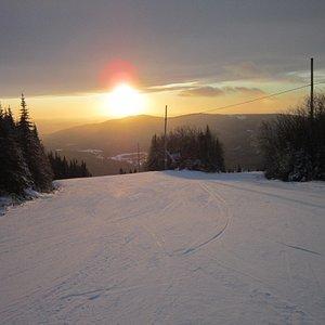 Sun Set at Grandfonds