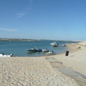 plage débarquement coté réserve naturelle