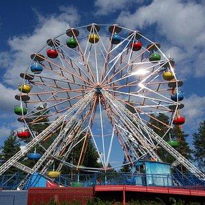 Kouvola Wheel in Tykkimaki Amusement Park