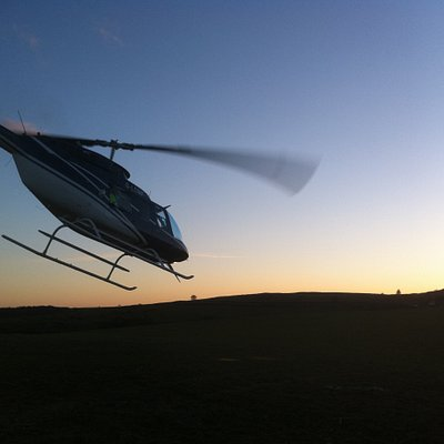 Sunset Pleasure Flying