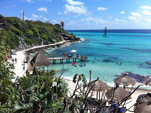 Garrafon Park Isla Mujeres, the best views in the Mexican Caribbean